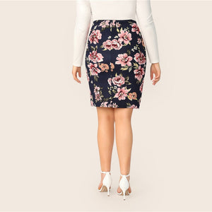 Unida Plus Size Skirt