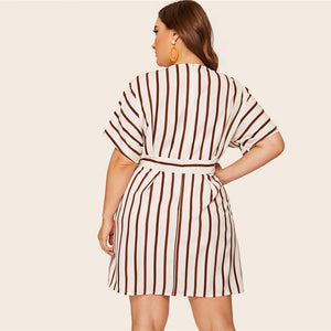 Fame Plus Size Mini Dress