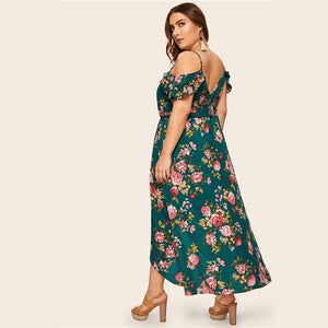 Garny Plus Size Maxi Dress