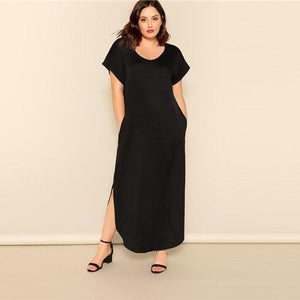 Thivana Plus Size Maxi Dress
