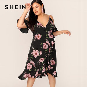 Kandice Plus Size Midi Dress