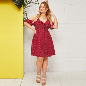 Prima Plus Size  Mini Dress