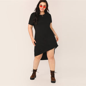 Ghianne Plus Size Midi Dress