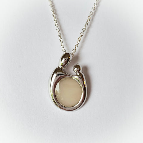 Embrace, Solid Sterling Silver or Solid 14kt Gold