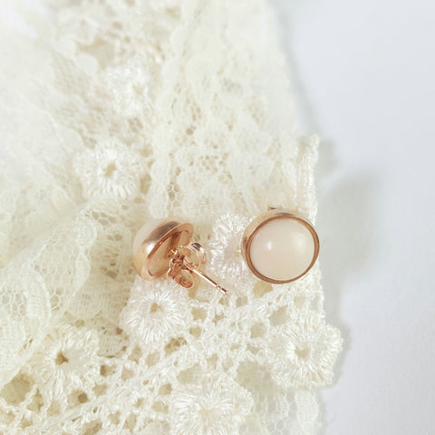 Solid 14kt Gold Breastmilk Earrings
