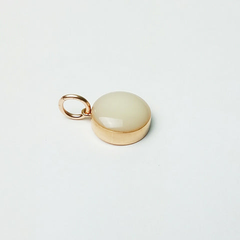 Breastmilk Bubble, Solid 14kt Gold
