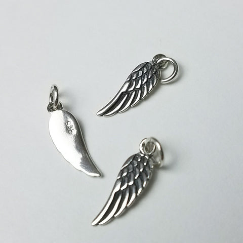 Angel wing, Sterling silver
