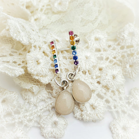 Rainbow Keepsake Earrings
