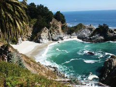 Big Sur's golden beaches