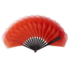 Tulipe hand fan by Duvelleroy