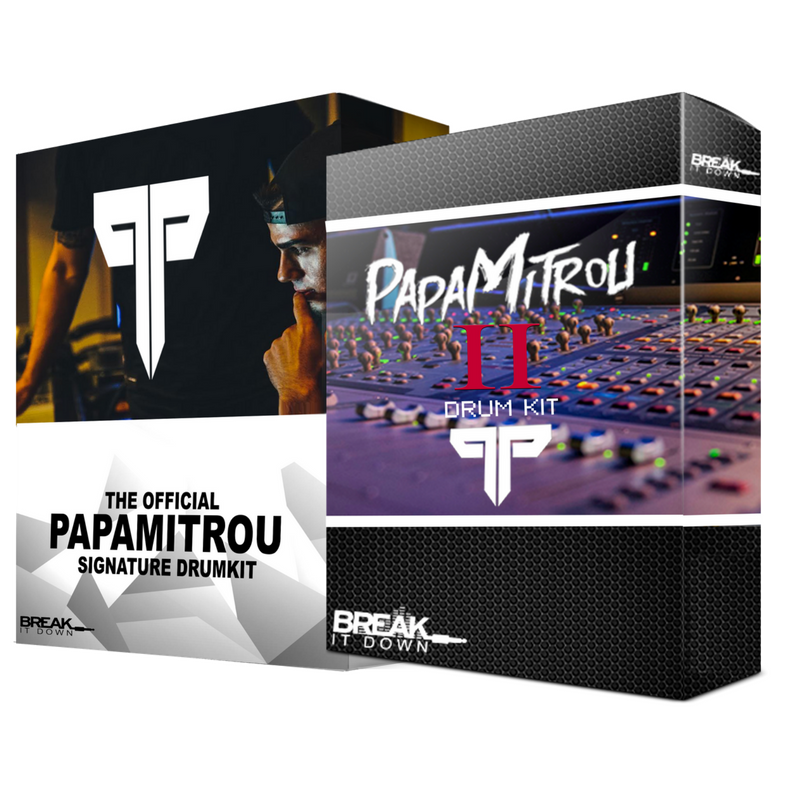 Break It Down - Break It Down  - Drum Kit Papamitrou Drum Pack Bundle - Dreamchasers
