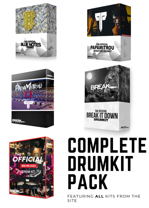 Break It Down - Break It Down  - Drum Kit Complete Drum Pack - Dreamchasers