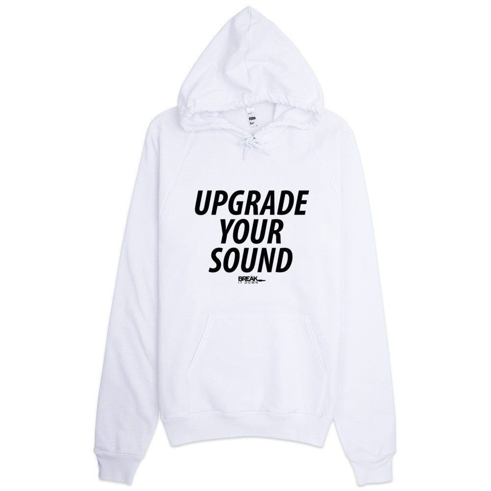 Break It Down - Break It Down Hoodie - Drum Kit Upgrade Your Sound Hoodie (white) - Dreamchasers