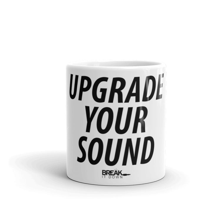 Break It Down - Break It Down Mug - Drum Kit Upgrade Your Sound Mug! - Dreamchasers