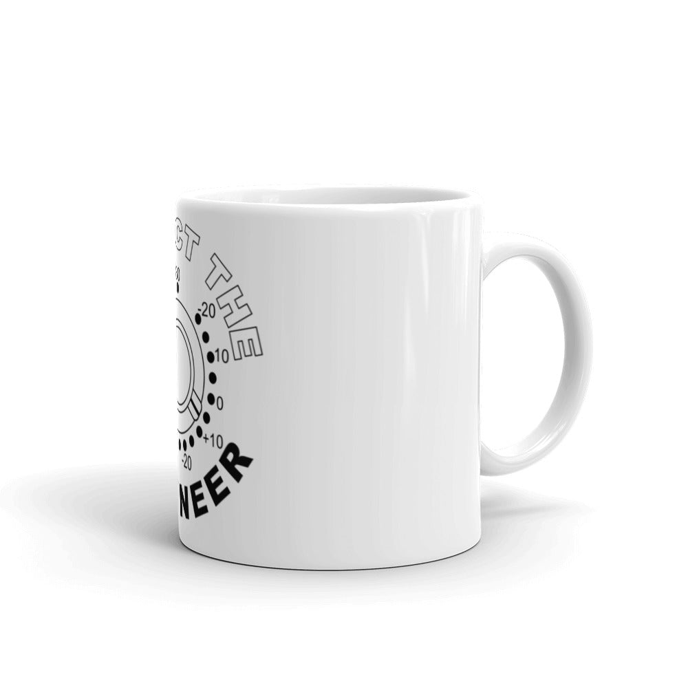"Break It Down - Break It Down  - Drum Kit ""Respect The Engineer"" Mug - Dreamchasers"