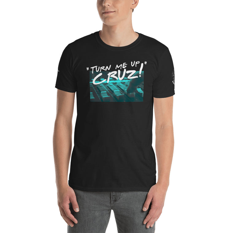 Turn Me Up Cruz Fader T-Shirt (Midnight Green)