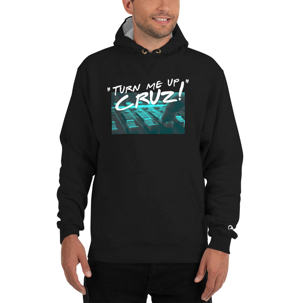 Break It Down - Break It Down Hoodie - Drum Kit Turn Me Up Cruz Fader Hoodie (Midnight Green) - Dreamchasers