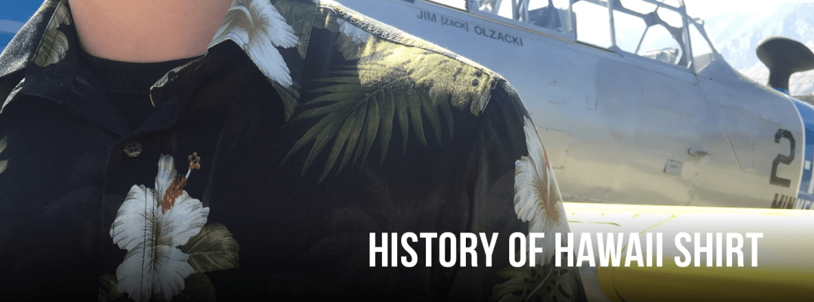 History of Hawaii shirt - L'Atelier