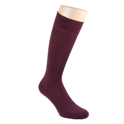 Cashmere Socks - Burgundy