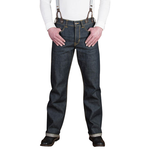 1937 Roamer 11oz. Denim - Blue Raw