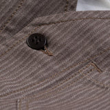 1937 Roamer Vest Herringbone - Brown