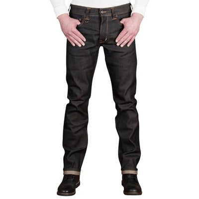 1963 Roamer 13oz. Denim - Pitch Black Raw - L'Atelier