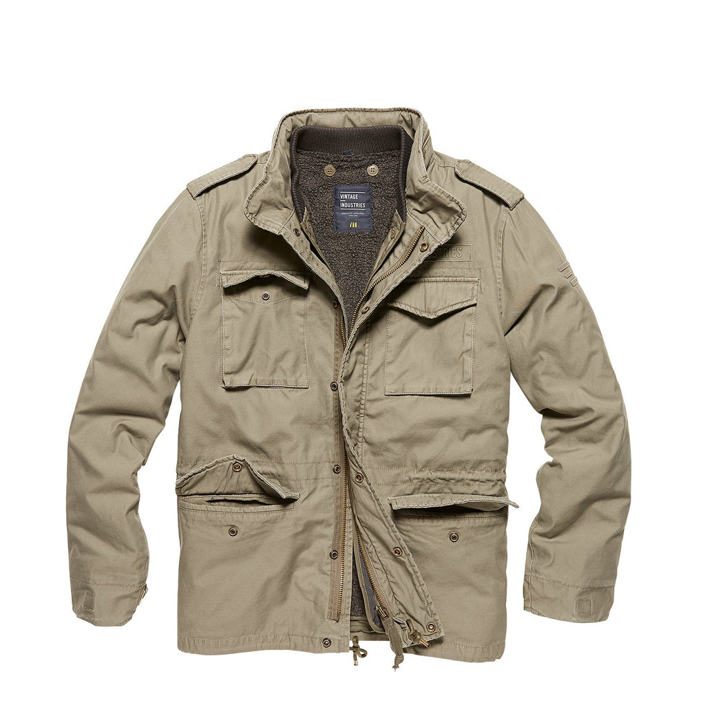 Ground Field Jacket - Olive