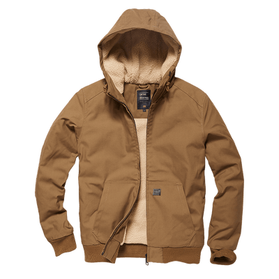 Datton Hooded Pile - Dark Tan - L'Atelier