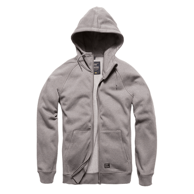 Basing Hooded Zip - Charcoal - L'Atelier