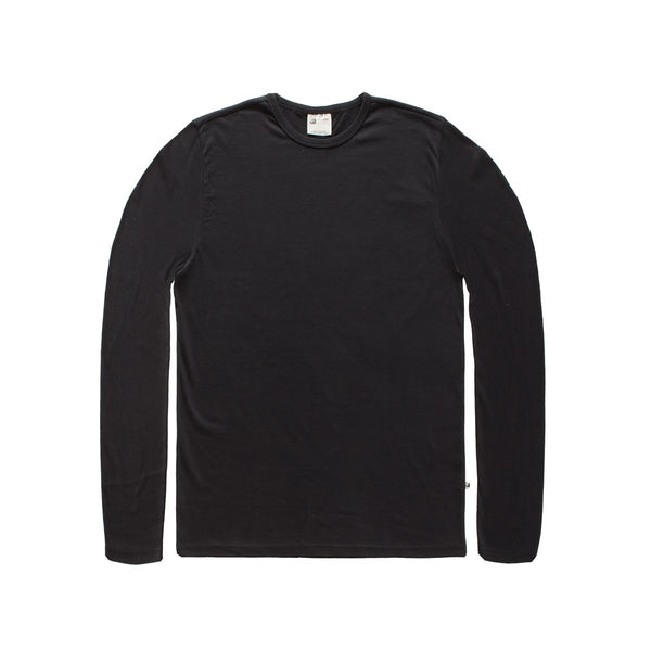 Jean Long Sleeve Shirt - Black