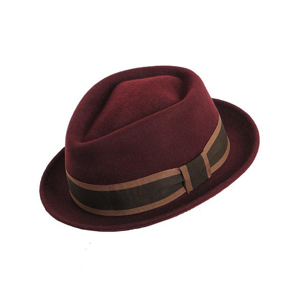 Pork Pie Wool - Bordeaux