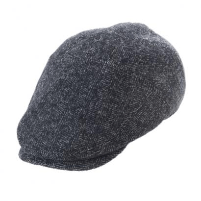 Sport Cap Wool Herringbone - Anthra