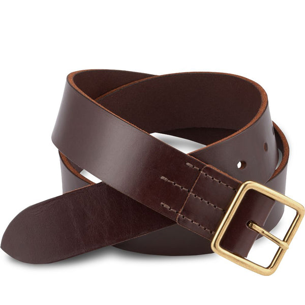 Heritage VT Belt 96506 - Dark Brown - 4cm