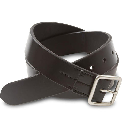 Vegetable Tanned Belt 96564 - Black - 4cm