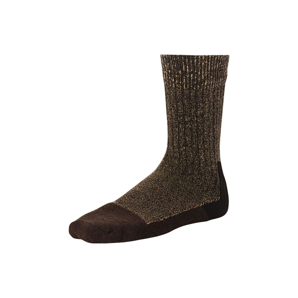 Capped Wool Sock 97173 - Brown