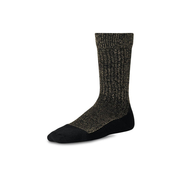 Capped Wool Sock 97177 - Black