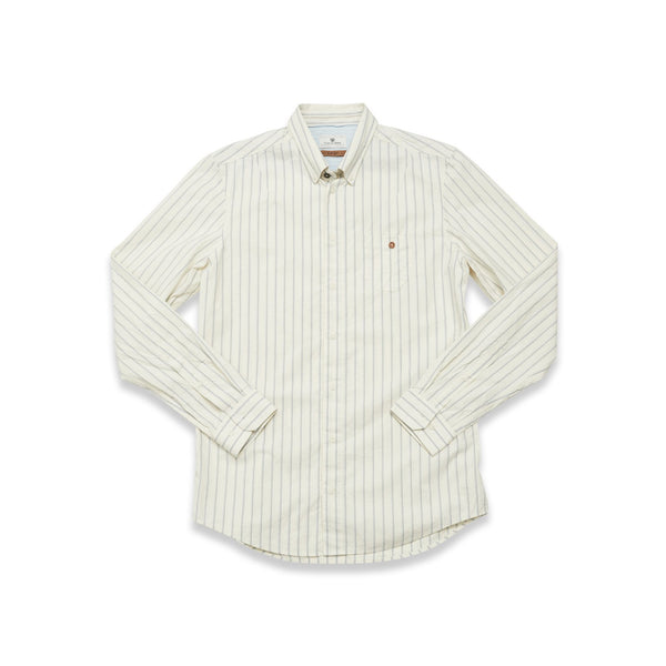 Bacco Rena Shirt - White stripe