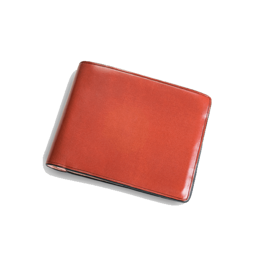 Bi-Fold Wallet - Coral Red