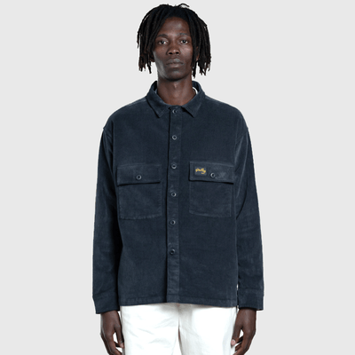 CPO Cord Shirt - Navy - L'Atelier