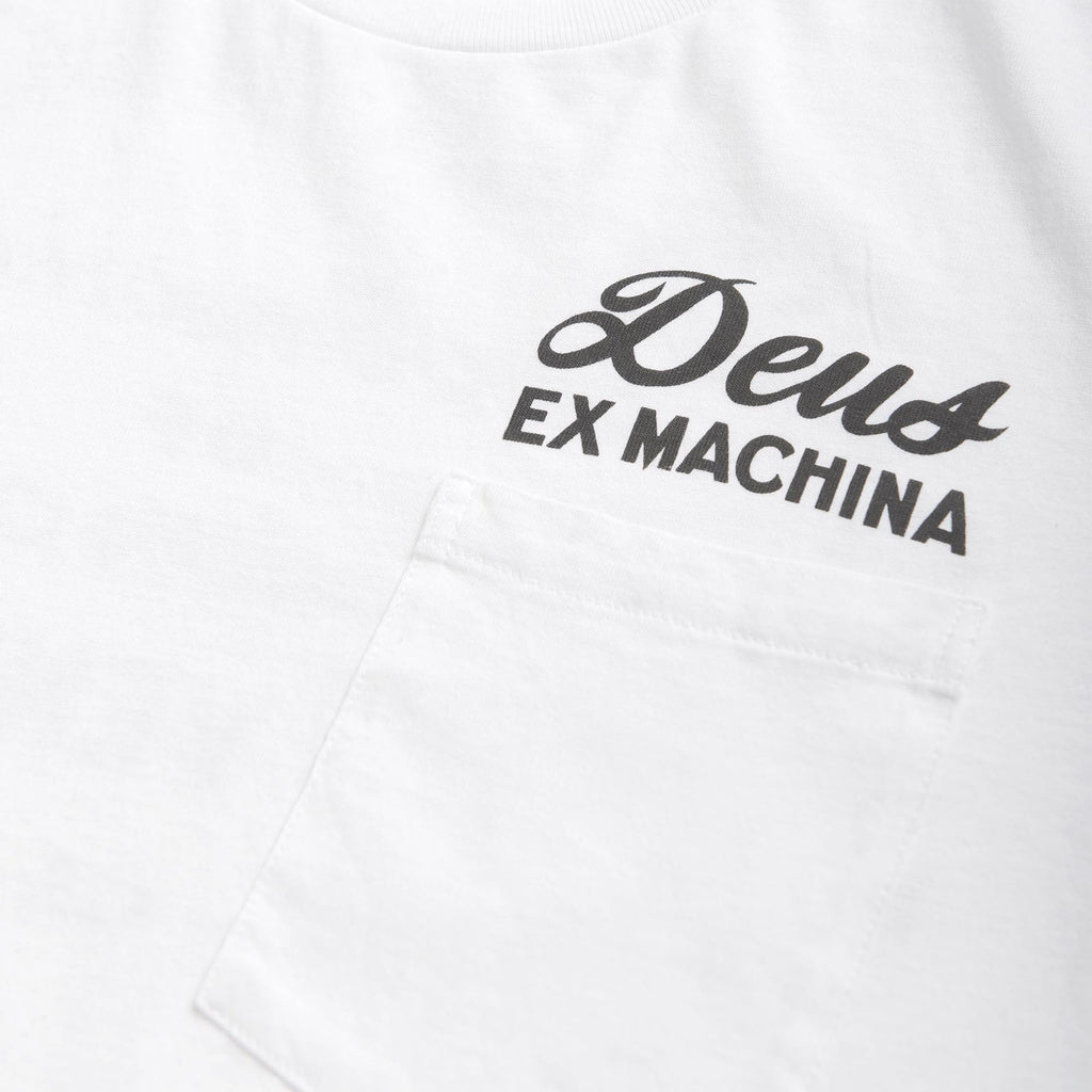 Venice Address Tee - White