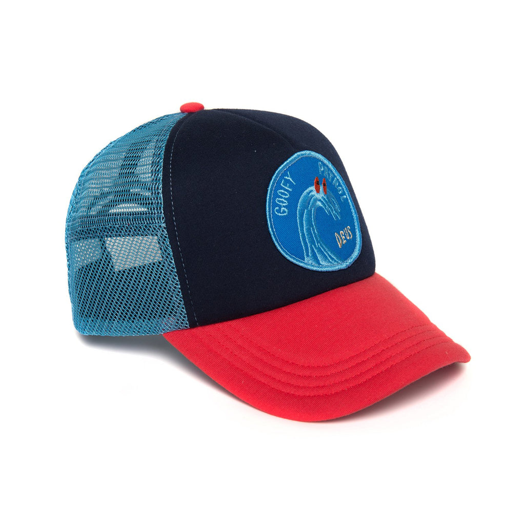 Friendly Waves Trucker - Navy