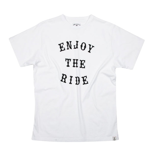 Enjoy The Ride Tee - White