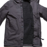 J25 Canvas Parka - Black