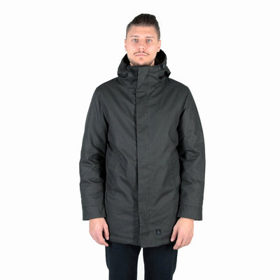 J25 Canvas Parka - British Green - L'Atelier