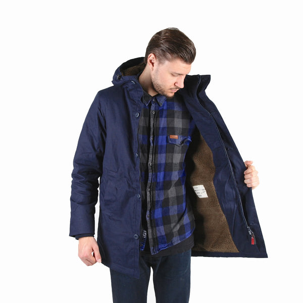 J25 Canvas Parka - Navy