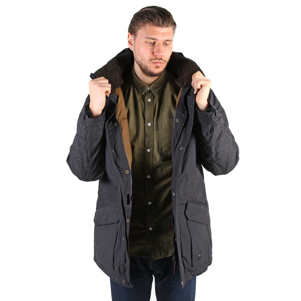 J65 Taslan down parka - Black