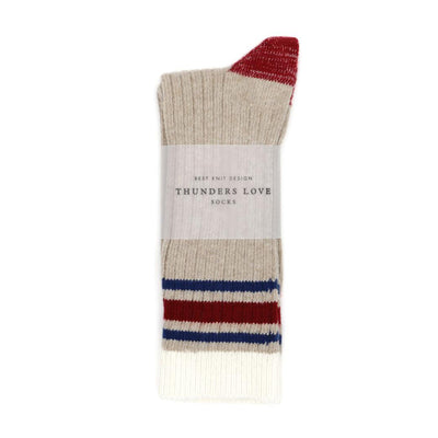 Nautical old port thunders love sock
