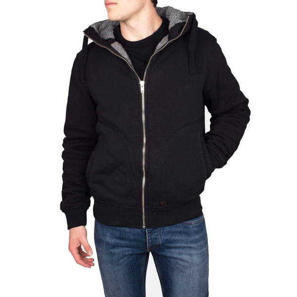 S18 Hooded Pile - Black
