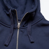 S18 Hooded Zip - Navy