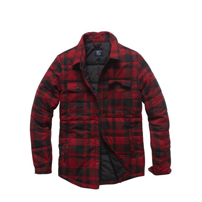 Padded Overshirt - Red